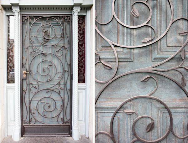 Wrought Iron Door Iron Doors Wrought Iron Doors Door Design
