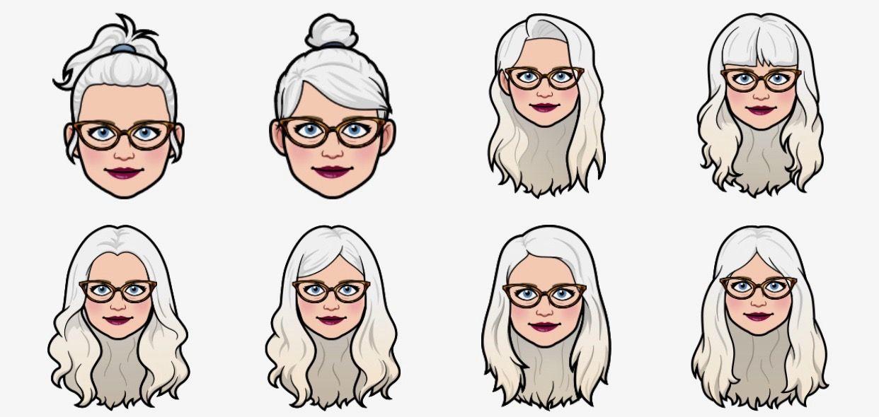 I Legitimately Like These Hair Styles Enough On My Bitmoji That I