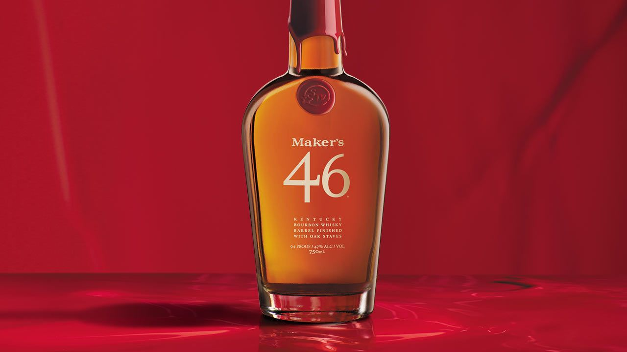 Maker S 46 Is Top Shelf Whisky Aged Inside Barrels Containing Seared French Oak Staves This Process Creates Bold Complex Flavor Whisky Makers 46 Makers Mark