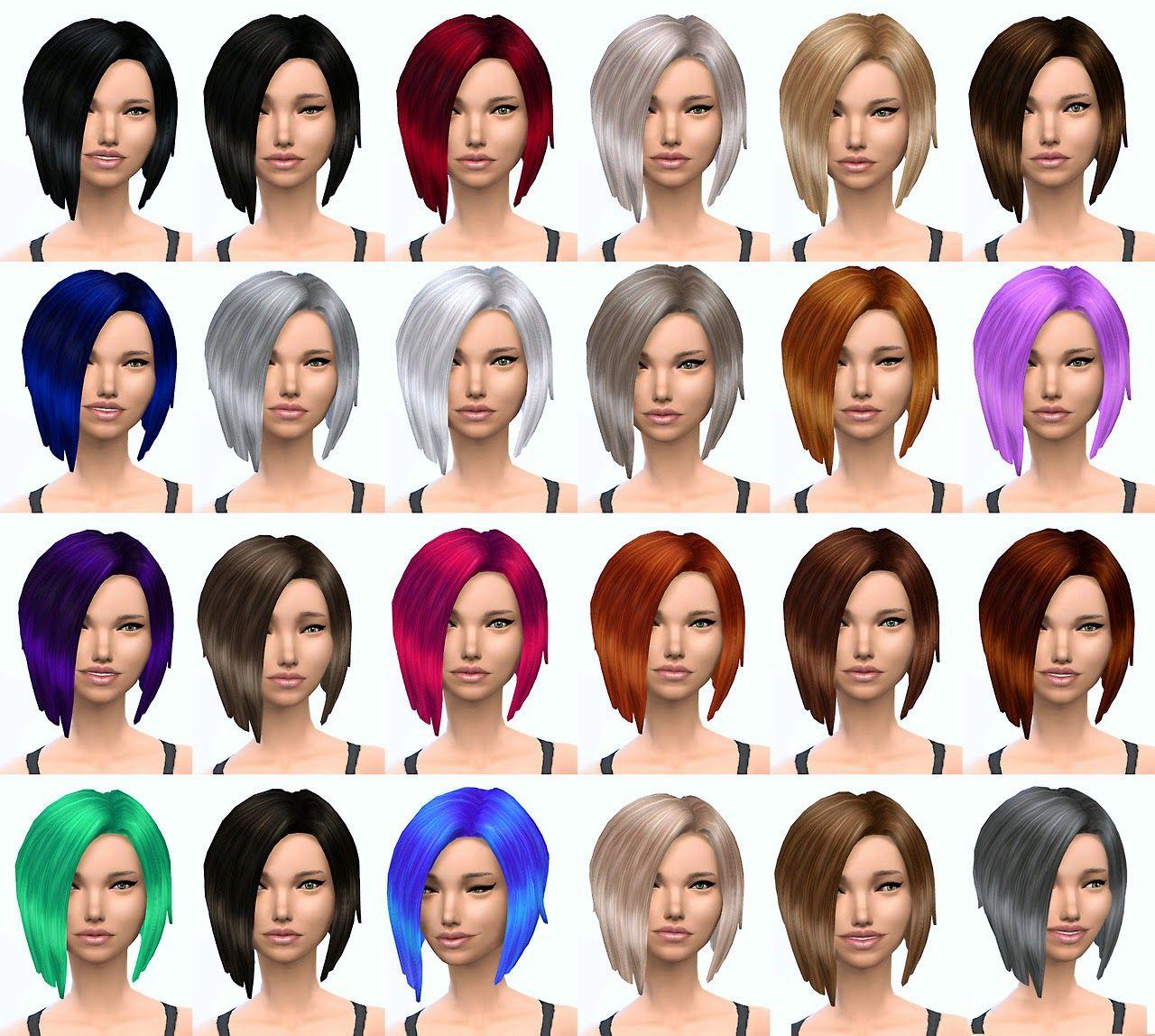 24 default hair retextures