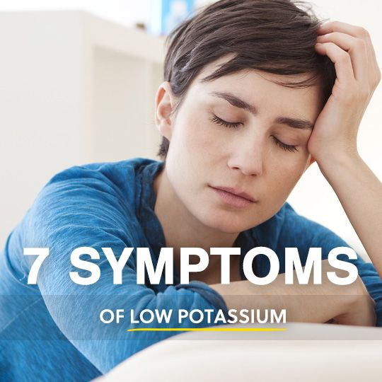 Symptoms that you may not be getting enough potassium in your diet…