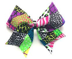 themed cheer bows - Google Search