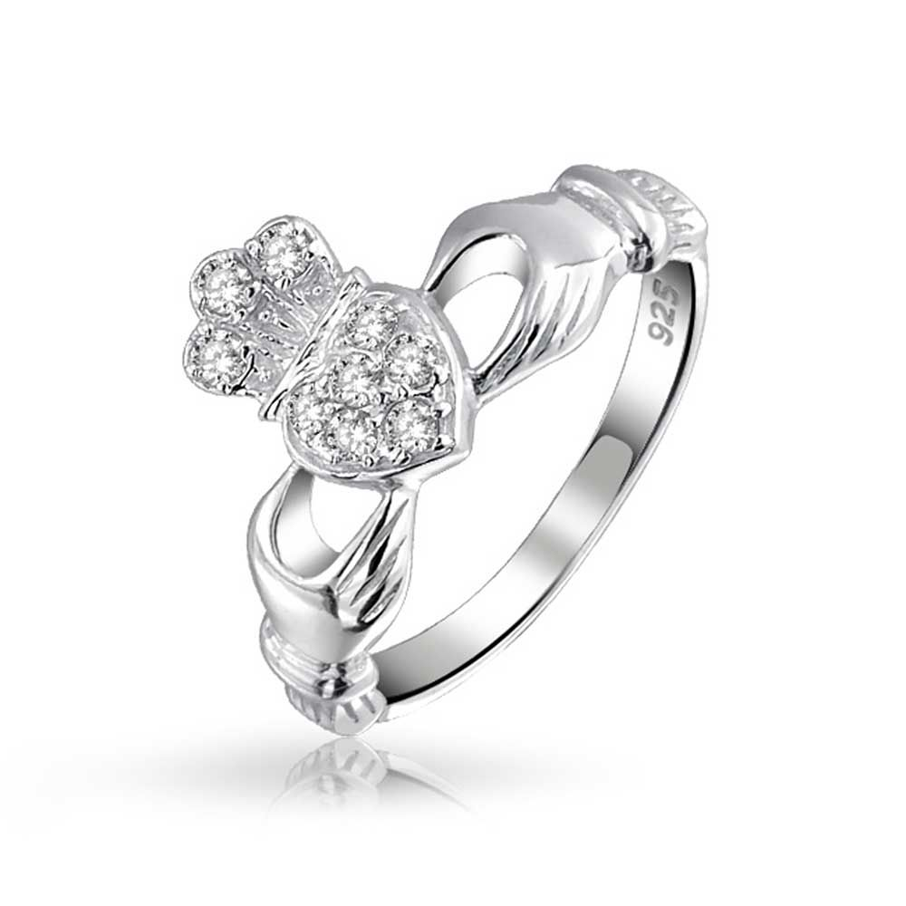 Claddagh, Love, Loyalty, Friendship Silver Ring by Shanore