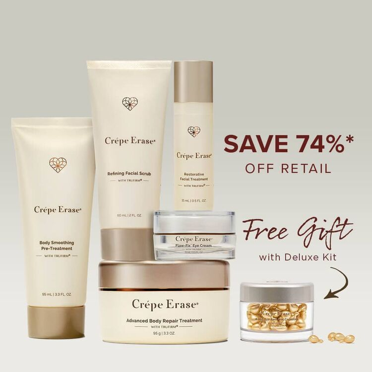 Buy Crepe Erase Products For Aging Crepey Skin Crepe Erase Crepey Skin Treatment Fragrance Free Products Smoothing Treatment
