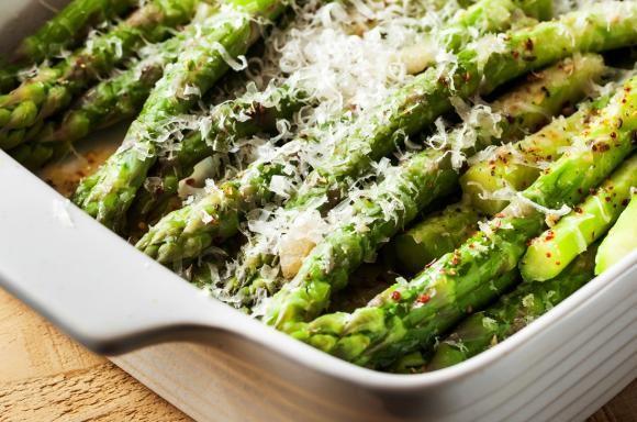 Asparagi al forno al microonde, ricetta - Cucinare Meglio