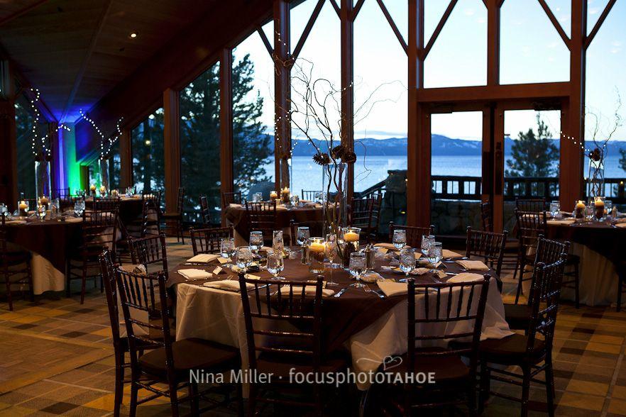 North Room Edgewood Tahoe Wedding Lake Tahoe Wedding Venues Tahoe Wedding Venue South Lake Tahoe Wedding Venues