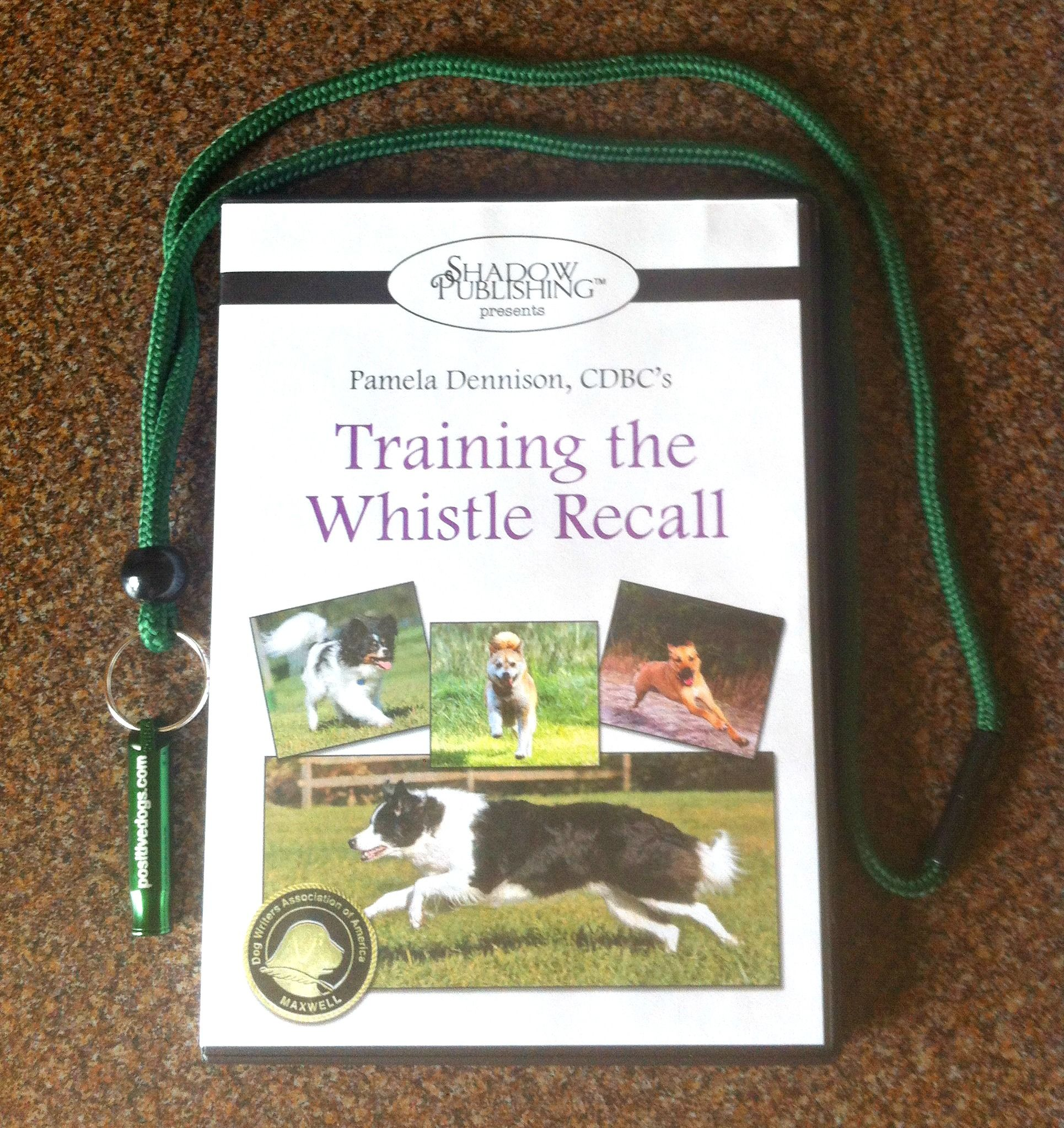 """Does your dog ignore you when you call him/her OR run in the opposite direction? Coming when called (a recall) is one of the most important behaviors to teach your dog. Training this behavior ensures security, freedom & can be life-saving! This award-winning DVD teaches you how to train a dog to come to a whistle w/ eagerness & speed. It features easy steps that you can incorporate into your daily routine. Learn about """"Training the Whistle Recall"""" here…"""
