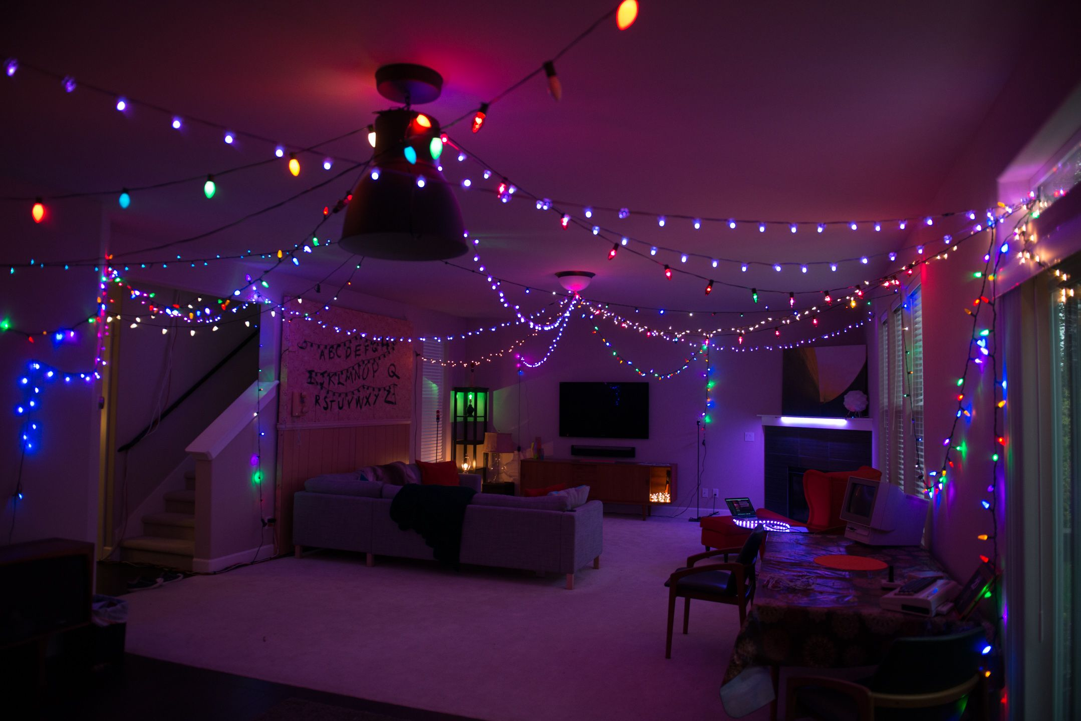 Stranger Things Party Halloween decor