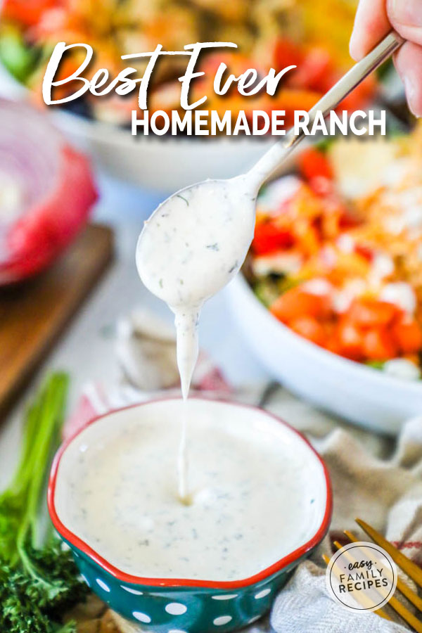 Yes This Is The Best Homemade Ranch Dressing I Will Never Buy The Bottled Stuff Again B Ranch Dressing Recipe Buttermilk Ranch Dressing Creamy Ranch Dressing