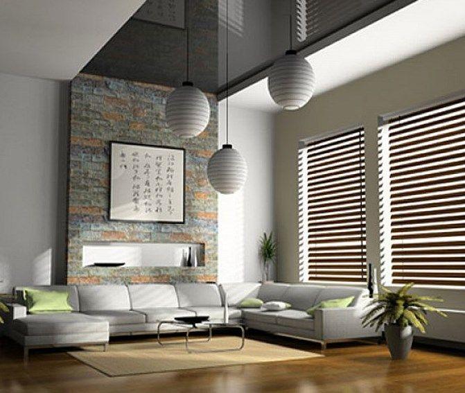 modern blinds for living room. Interior Design  Modern Living Room In Large Size With Horizontal Venetian Wooden Blinds Ideas