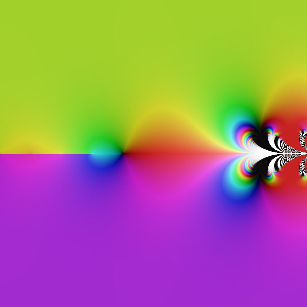 ComplexGraph[SuperExp, -5, 5, -5, 5, 900]