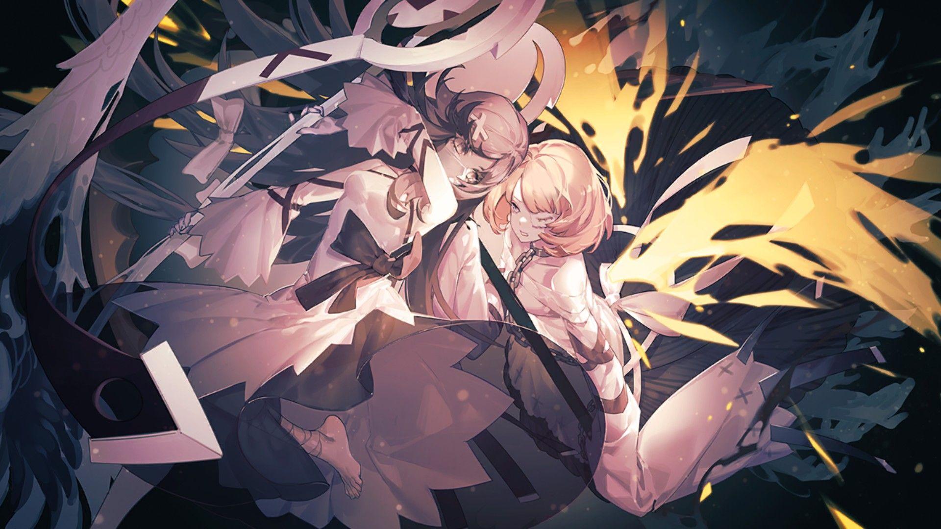 Eternal city anime wallpaper
