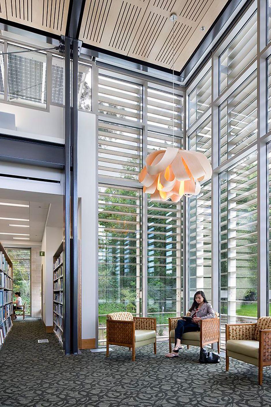 #Agatha Lamp Biblioteca Los Gatos, California Unique wood lighting design since 1994  #WoodLighting