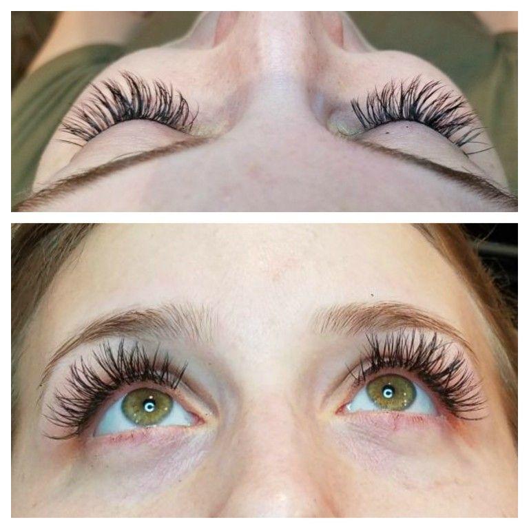 Volume lashes semi permanent lash extensions lashes