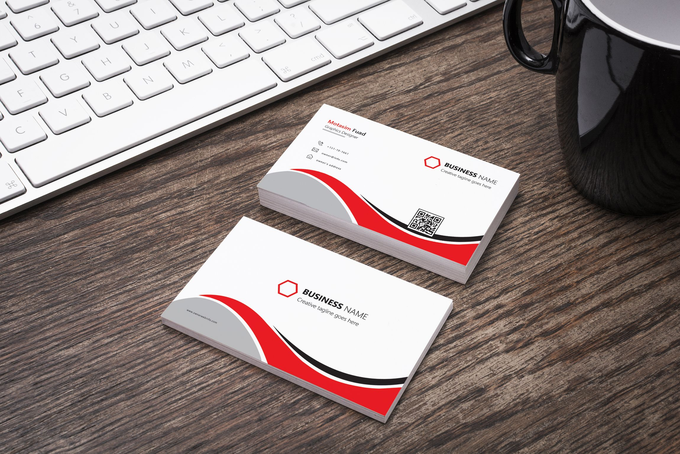 Check out my behance project creative business card