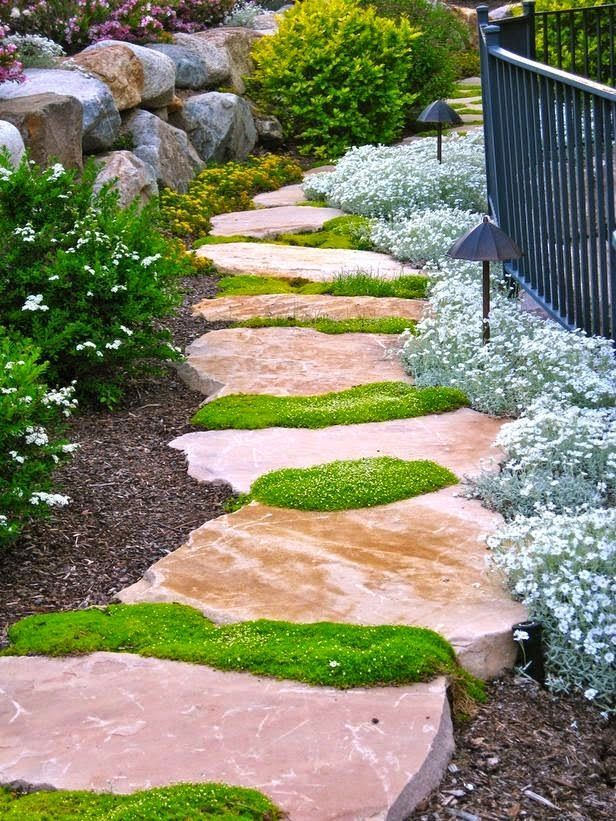 Sometimes All It Takes Is Building A Backyard Pathway To Get Your Yard Ready For Entertaining Pathways Act Like The Backbone Of Garden