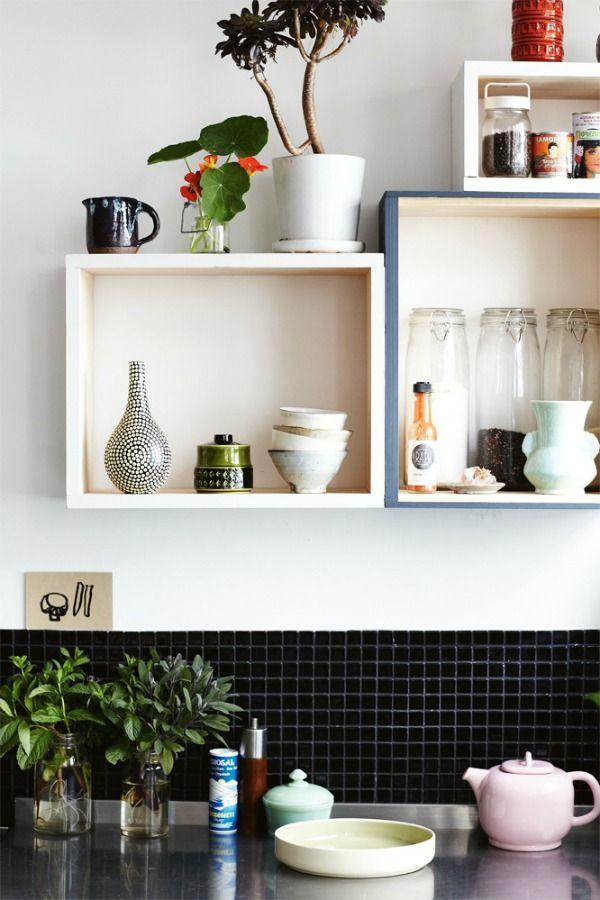 Kubussen Aan De Muur Eenig Wonen Thuisdecoratie Decoraties Woonideeen