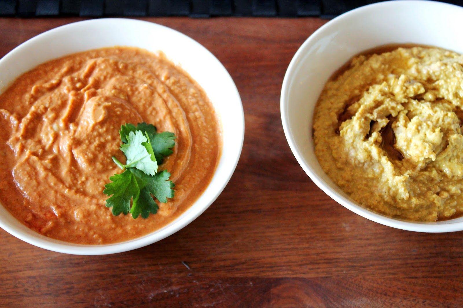 Hummus, original and chili-tomato   Alinan kotona blog