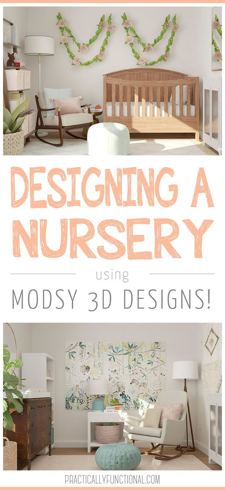 Designing A Nursery With Modsy Child Decor And Playroom