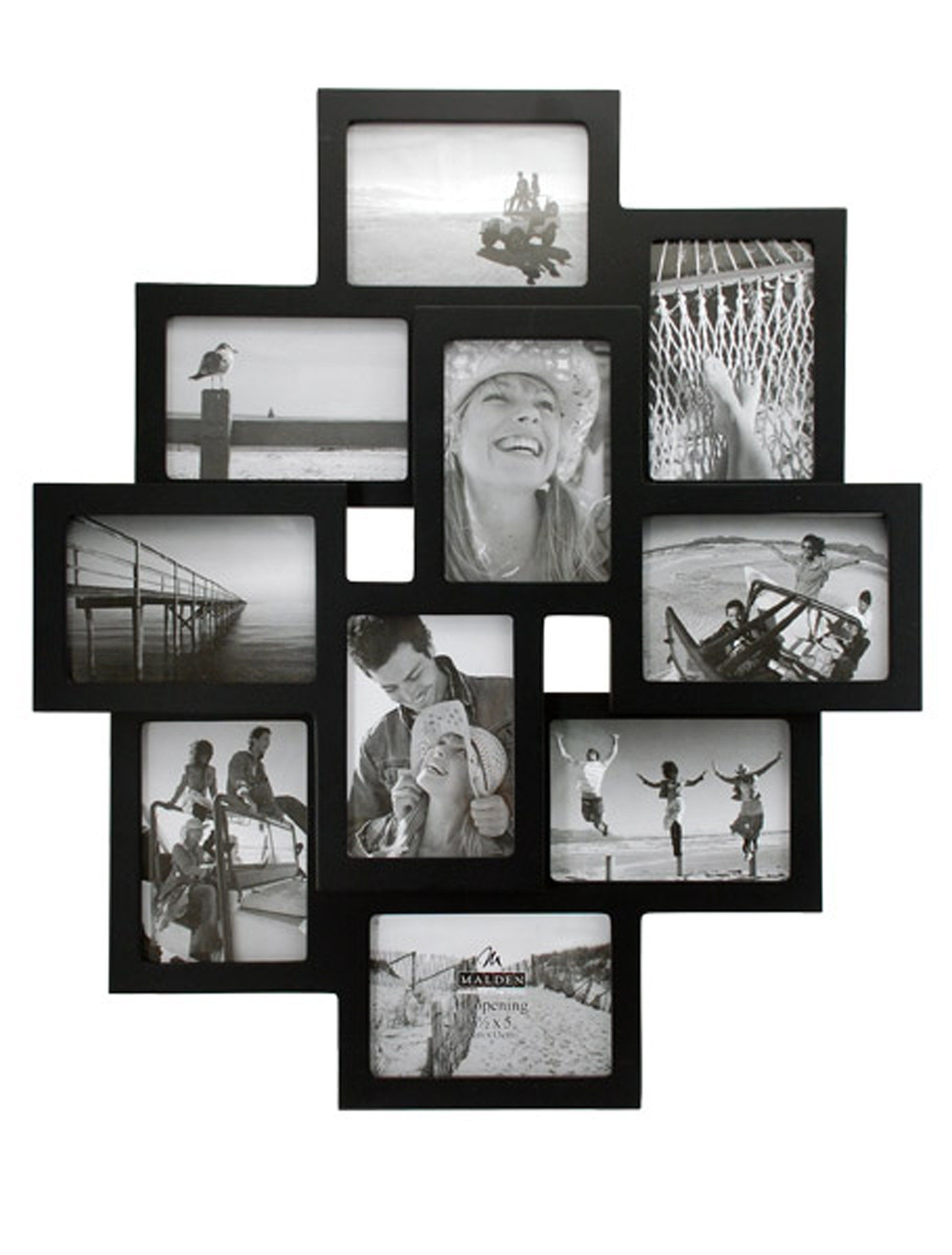 Malden 2119 10 35x5 inch crossroads 3d 10 opening collage frames malden 2119 10 35x5 inch crossroads 3d 10 opening collage frames amazon jeuxipadfo Image collections