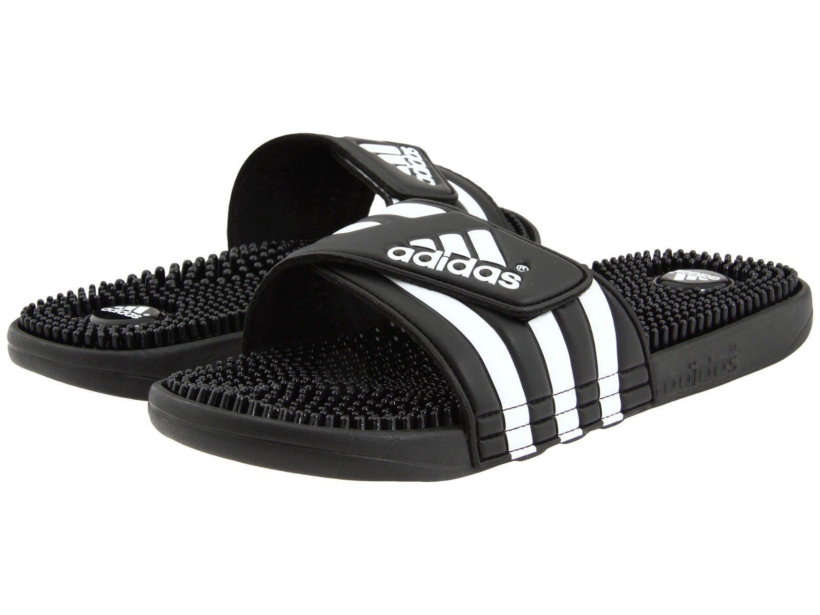 Mens Adidas Adissage Black Slides Shower Sandals Athletic Sport 078260 Sz 6-15  Item specifics Condition  New with box  A brand-new unused and unworn item  ... b6186cdb0
