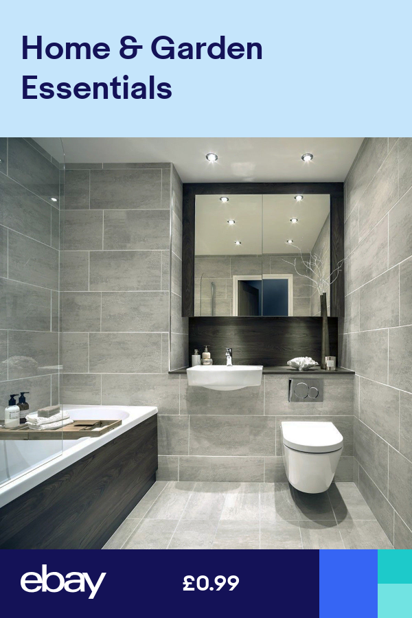 10x10 Bathroom: 10x10 Sample Of 61.3x30.3cm Indiana Grey Matt Porcelain