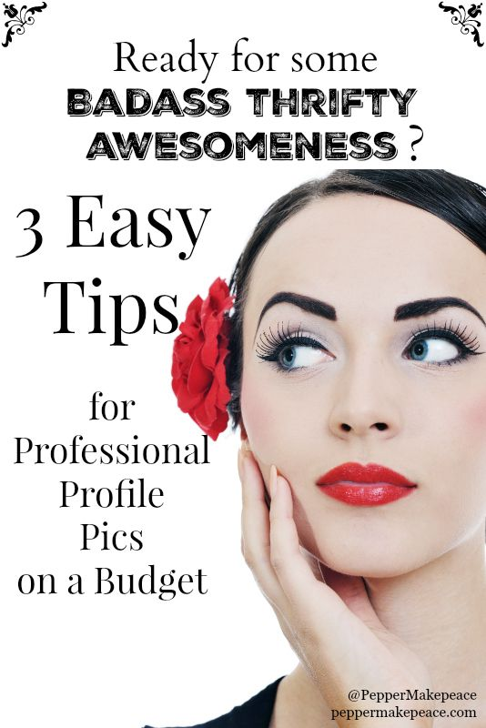 Professional Profile Picture on a Budget u2013 3 Easy Tips - professional profile