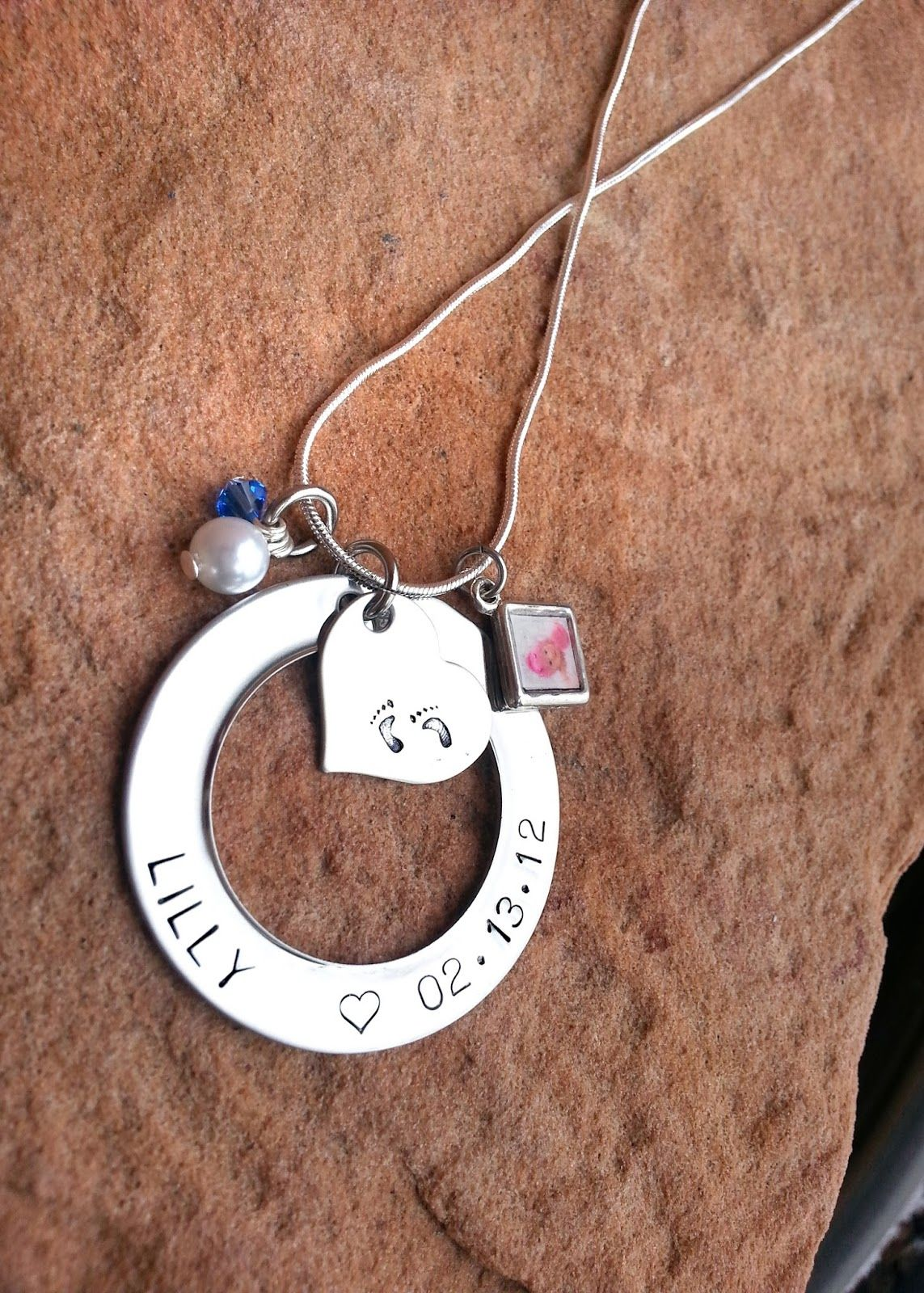 more centime personalized jewelry s gifts of name baby mother circle love custom necklace chains children for names gift