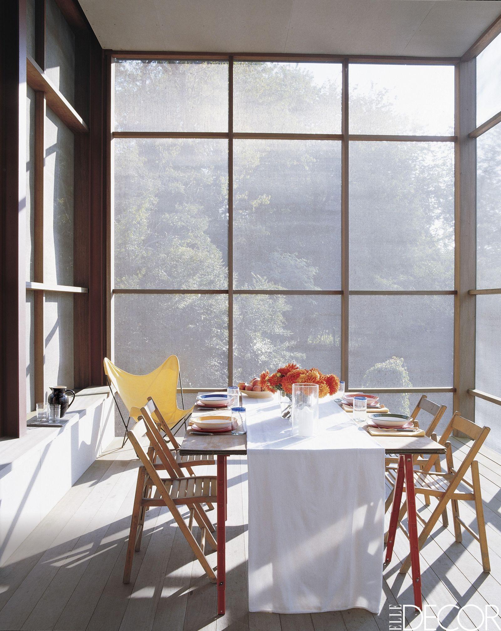 Perfect Porches For Lazing Al Fresco  Minimalist Porch and Sunrooms