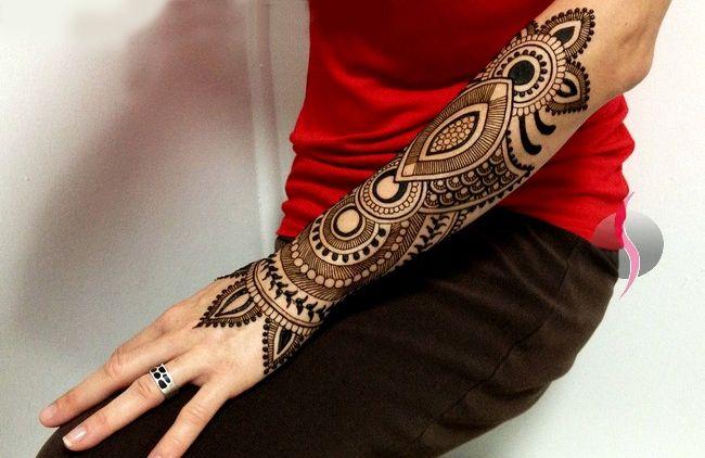 Full Arm Mehndi Designs : Fantastic full arm mehndi design ideas for girls fashion
