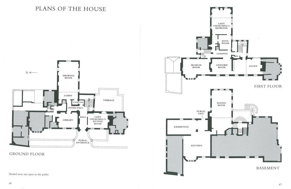 Chartwell house floor plans