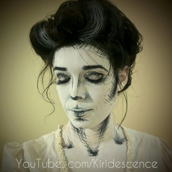 Gibson Girl Drawing Video Make Up Tutorial By Kiridescence Youtube - Gibson girl hairstyle youtube