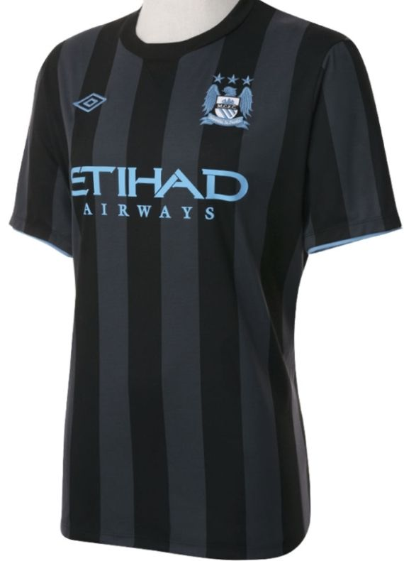 Umbro Man City Euro Away Shirt 2012 2013  17f5c74b0