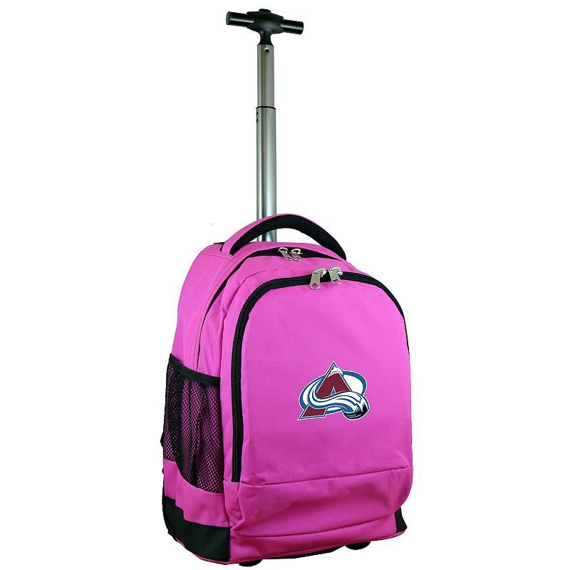 Colorado Avalanche Premium Wheeled Backpack,