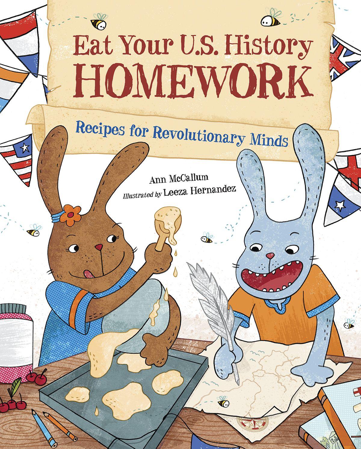 Ann Mccallum Books Eat Your Us History Homework A