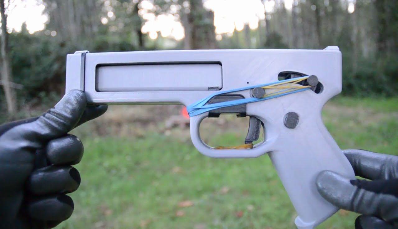 REPAIRED! Songbird  357 Magnum 3D Printed Pistol