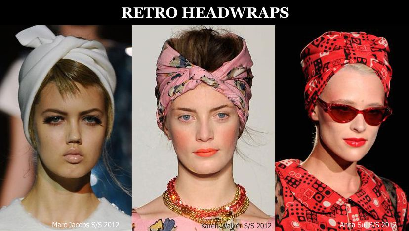 Scarf Trends Ana Sui Headscarf Trends Fashion Scarf Style