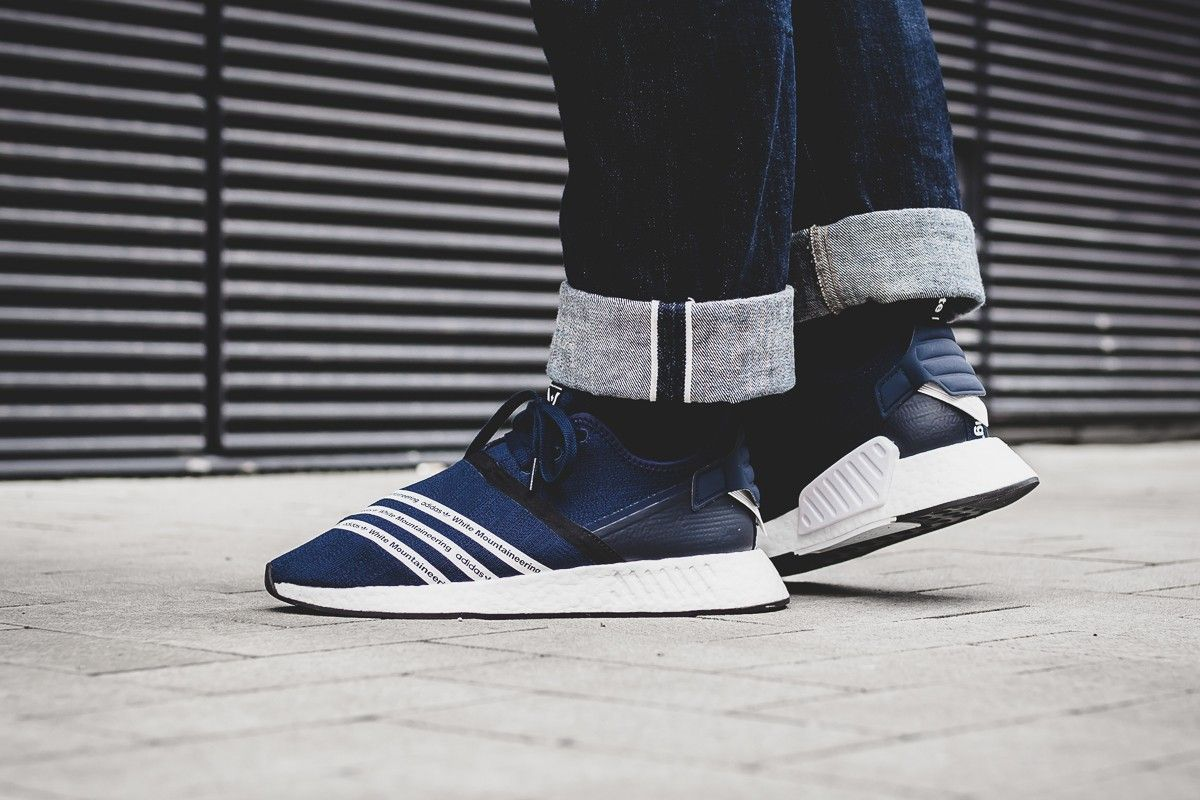 purchase cheap 95d08 c77d0 Adidas x White Mountaineering NMD_R2 Collegiate Navy ...