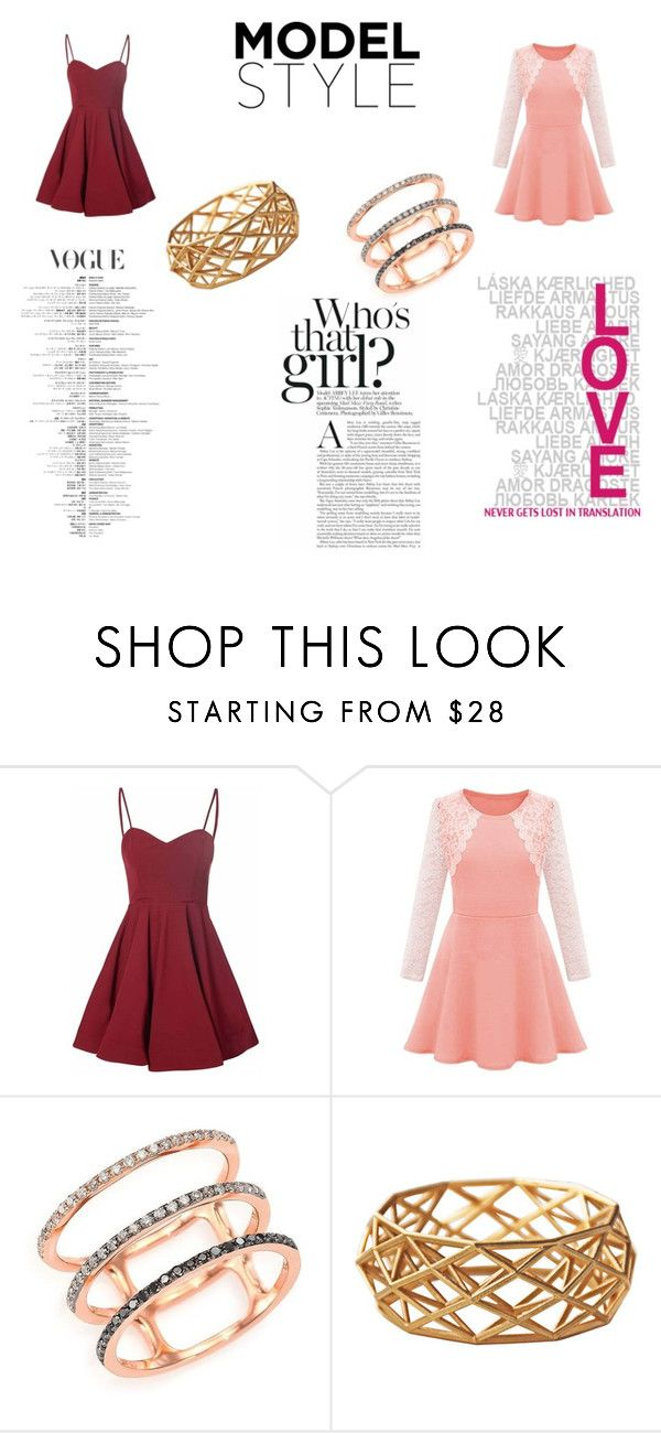classic style by aaliyah-kershaw on Polyvore featuring Glamorous and EF Collection