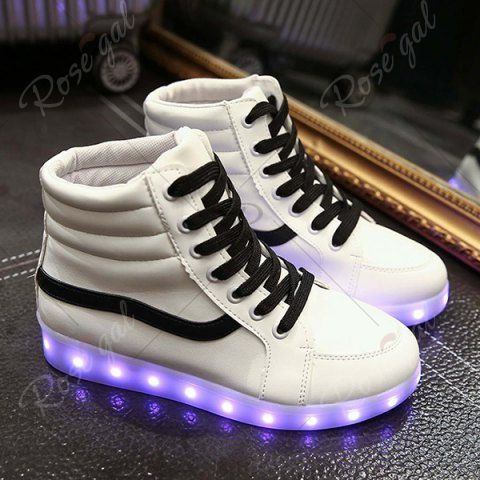 Stylish Led Luminous and High Top Design Sneakers For Women visit new outlet footlocker finishline Manchester sale online 1uNv7
