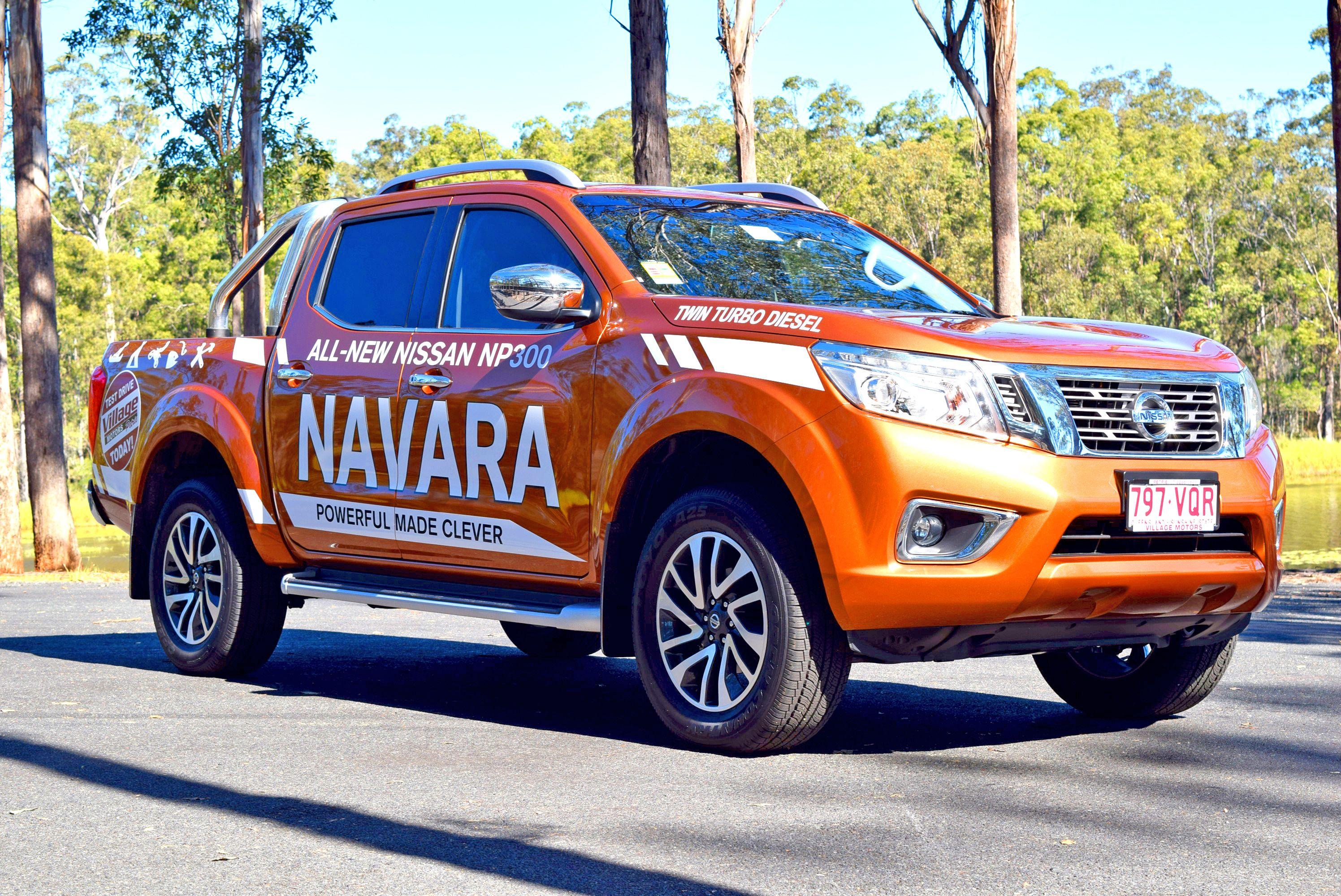New Nissan NP300 Navara www