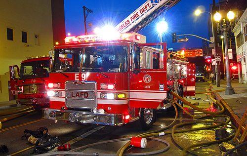 Los Angeles Fire Department Engine 9 | Fire Trucks / Fire