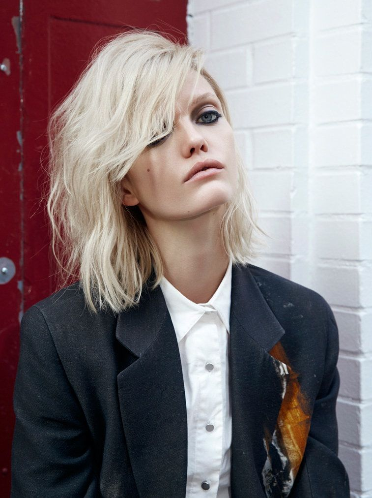 "Jennifer ""JP"" Pugh by Max Liebenstein for Hunger TV. #fashion #portrait"