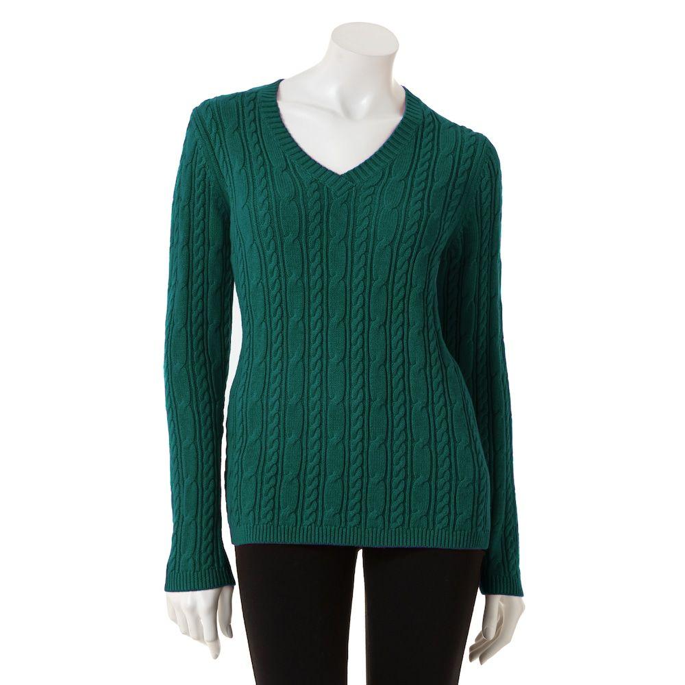 7e70b0117c5386 Women s Croft   Barrow® Cable-Knit Sweater in 2018