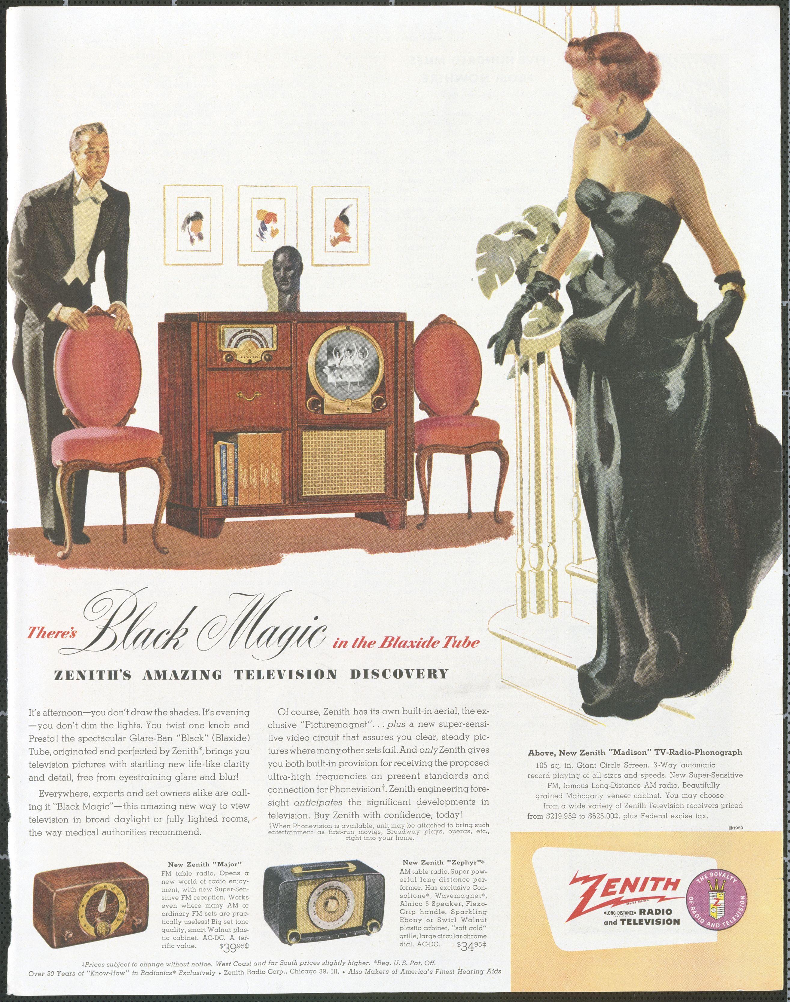 The Attic Blog Vintage Television Vintage Tv Vintage Advertisements