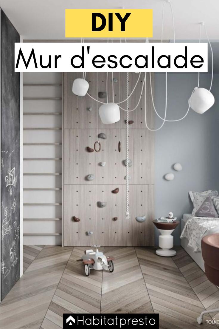 Diy Comment Fabriquer Un Mur D Escalade Chez Soi Decoration Chambre Enfant Chambre Enfant Amenagement Chambre