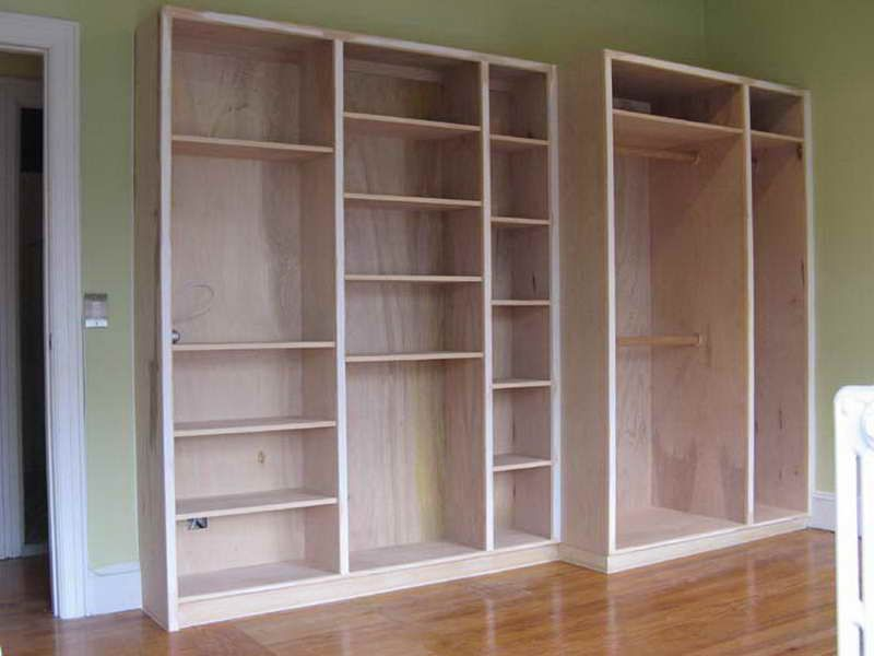 Room Built In Bookcase Plans