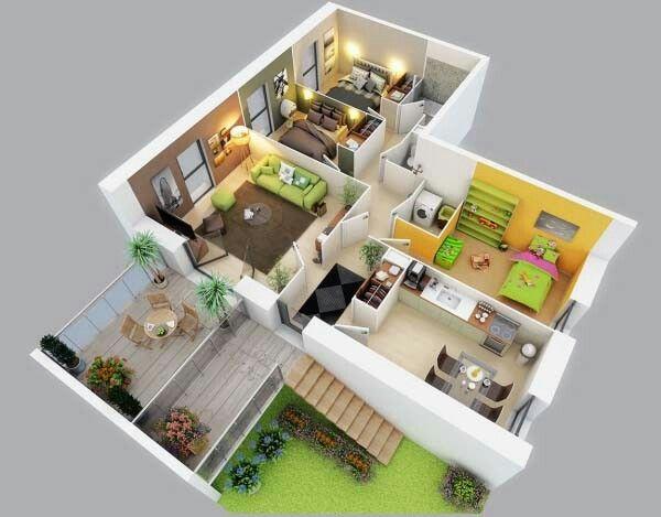 Moderne Hauspläne, Kleine Hauspläne, Moderne Häuser, Haus Design,  Zeitgenössische Wohngestaltung, Haus Blaupausen, Schlafzimmer In Wohnung,  ...