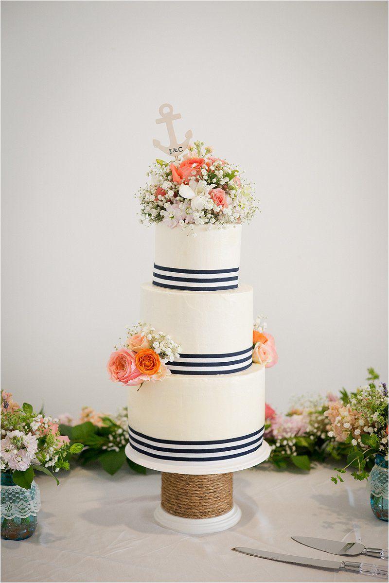 Chelsey and justin wedding virginia beach virginia cake by sweet