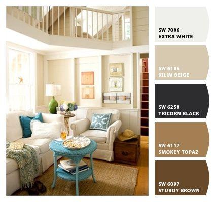 Kilim beige warm coastal lounge paint colors from chip for Warm beige paint colors for living room